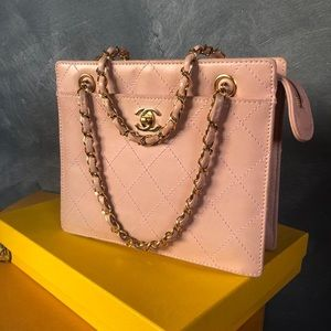 Chanel Vintage Powder Pink bag